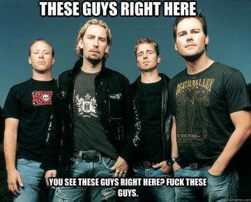 За метъл елитаризма, хейт модата и... Nickelback