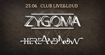 Белгийски екстремен прог/мат метъл от Zygoma в Live & Loud