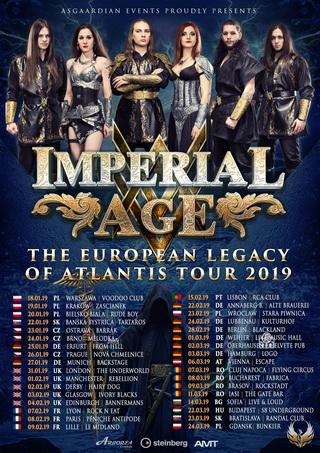 METALWINGS ще открият концерта на IMPERIAL AGE в София на 15-и март